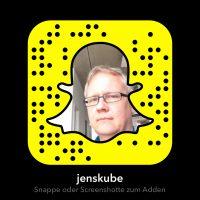 QR-Code ähnlicher Code, um den Snapchat-Account zu adden
