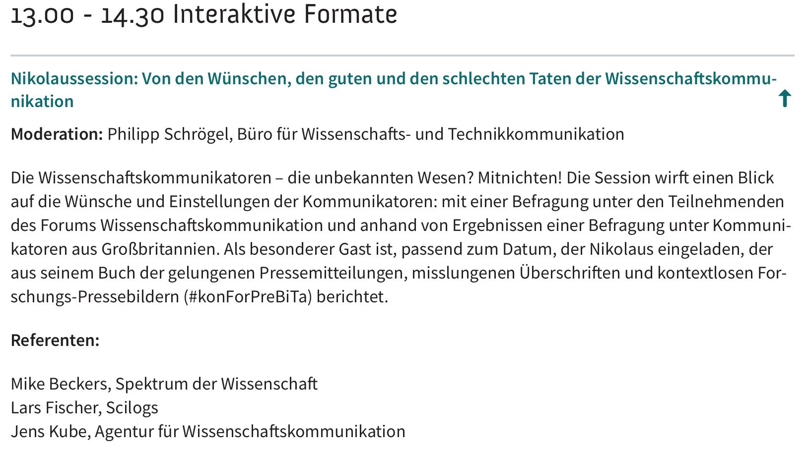 fwk16-nikolaussession