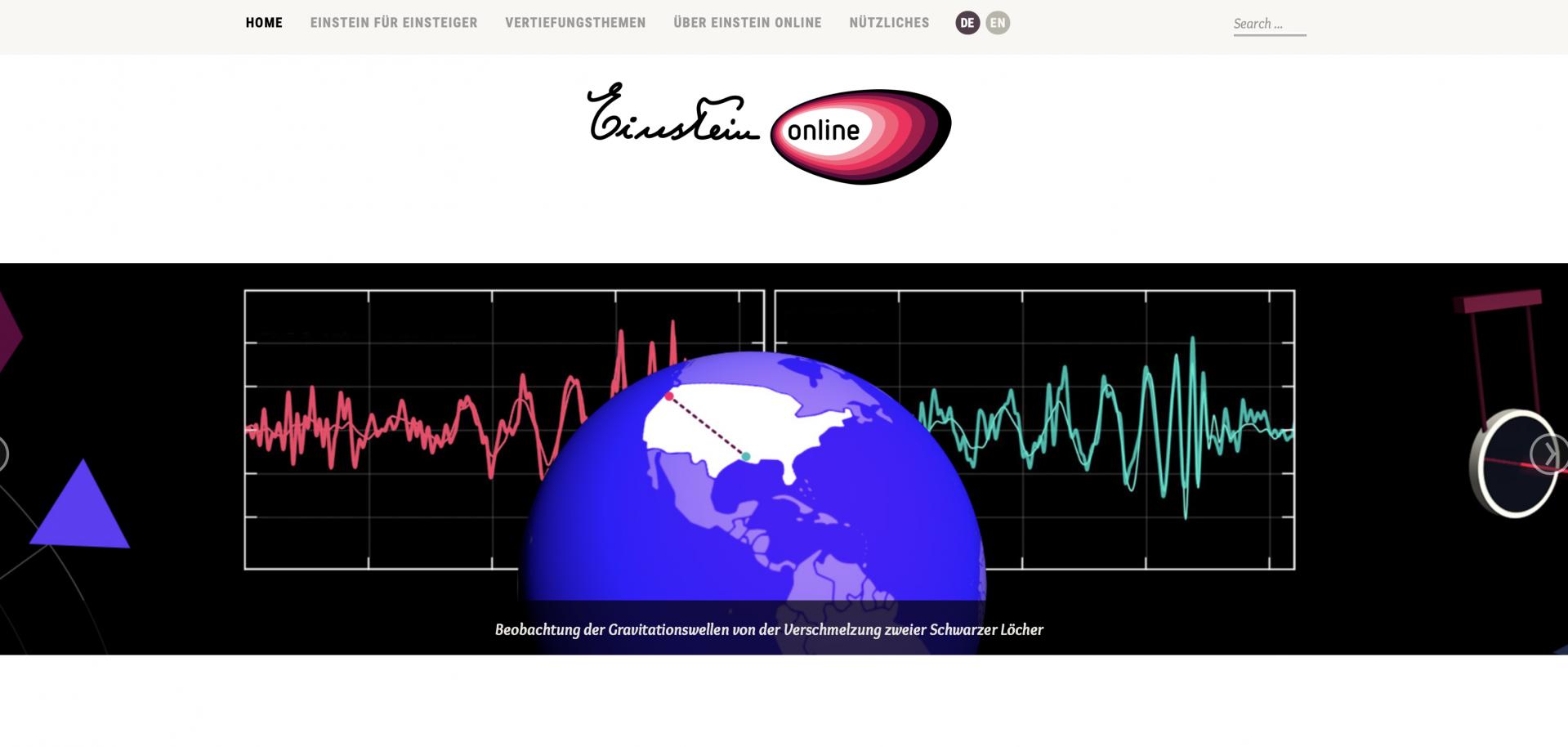 Einstein-Online.info